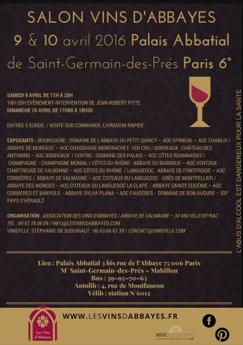 Salon des vins d abbayes iter vitis for Calendrier salon des vins
