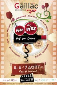 La fête des vins fait son cinéma Gaillac