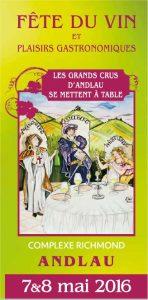 Fête du vin et plaisirs gastronomiques à ANDLAU