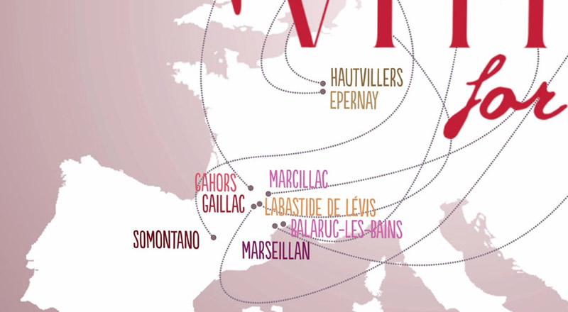 Vitis For All, les destinations / © DR