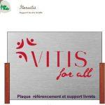 Vitis For All Seminaire 2017 Support presentoir carnet de visite