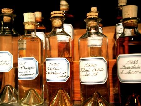Echantillons, Musée des arts du Cognac