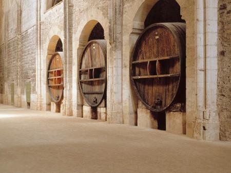 Abbaye de Valmagne foudres / © DR
