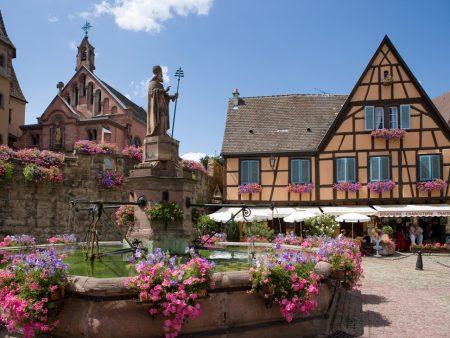 Place du ChÉteau Egusiheim - C.P. Mairie Eguisheim