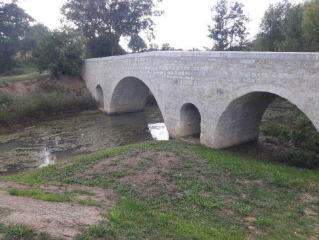 Pont d'Artigues après travaux/ © DR
