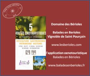 Iter Vitis Awards - Lauréats 2018 Domaine des Bérioles