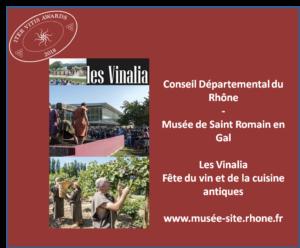 Iter Vitis Awards - Lauréats 2018 Vinalia