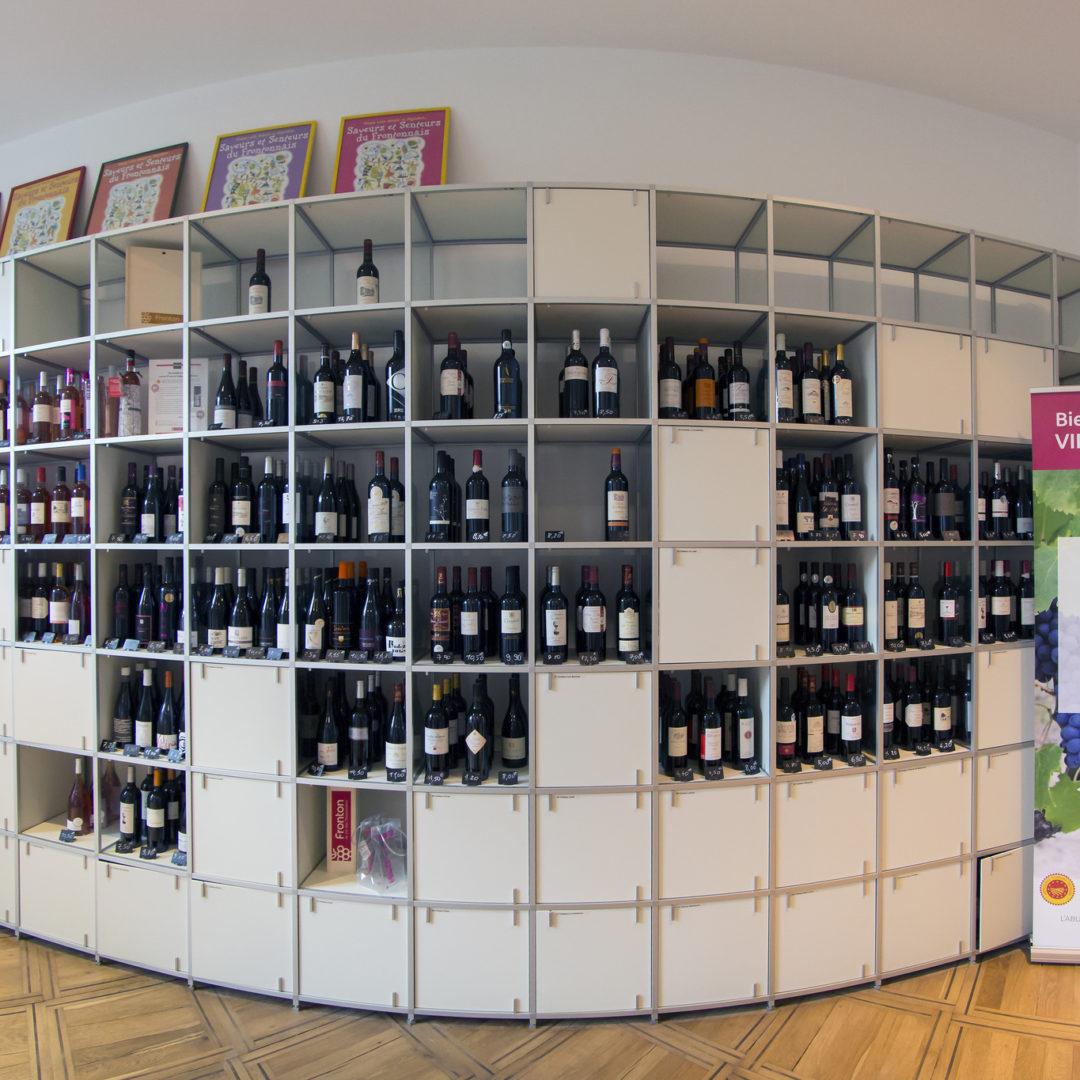 Maison des vins, Fronton / © Nathalie Lacomme - Maison des vins Fronton