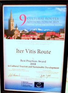 Forum annuel des Itinéraires Culturels du Conseil de l'Europe - Sibiu Roumanie, 5 Octobre 2019 / © Iter Vitis