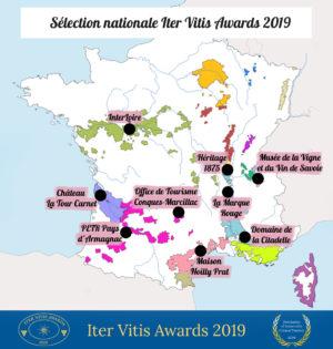 Annonce de la sélection nationale Iter Vitis Awards 2019, 30 juillet 2019/ © Iter Vitis